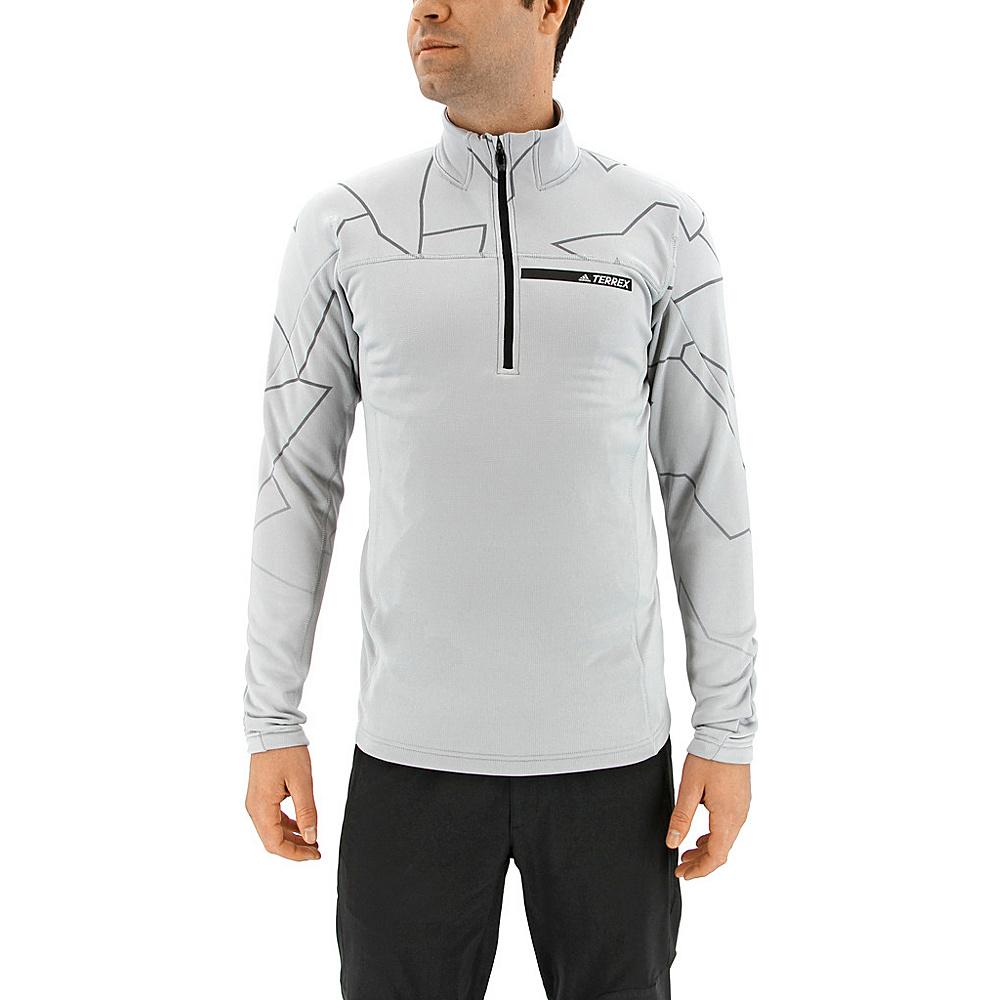 adidas outdoor Mens Terrex Icesky Longsleeve II M - Clear Onix - adidas outdoor Mens Apparel - Apparel & Footwear, Men's Apparel