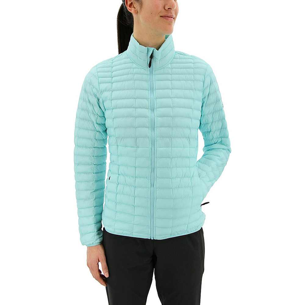adidas outdoor Womens Flyloft Jacket L - Clear Aqua - adidas outdoor Womens Apparel - Apparel & Footwear, Women's Apparel