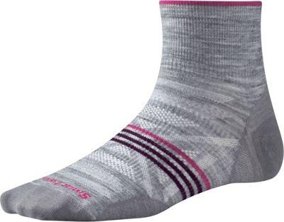 Smartwool Womens PhD Outdoor Ultra Light Mini Light Gray Heather - Small - Smartwool Women's Legwear/Socks