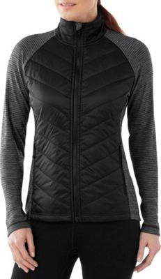 Smartwool Womens Propulsion 60 Jacket XS - Black/Light Gray - Smartwool Women's Apparel