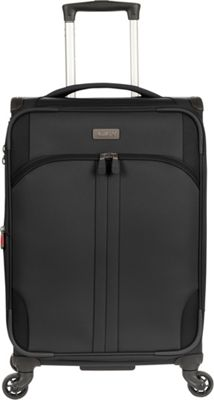 Antler Aire DLX 21 inch Carry On Spinner Black - Antler Softside Carry-On