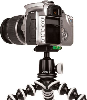 Joby Gorillapod SLR-Zoom Flexible Mini Tripod w/ BH1-01EN Ball Head Black - Joby Camera Accessories