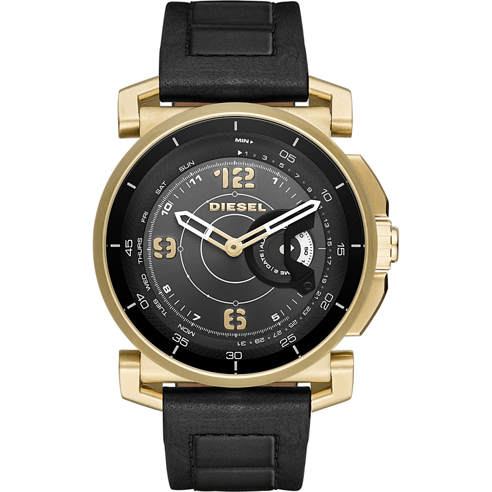 Diesel Watches On Time Hybrid Smartwatch Black - Diesel Watches Wearable Technology