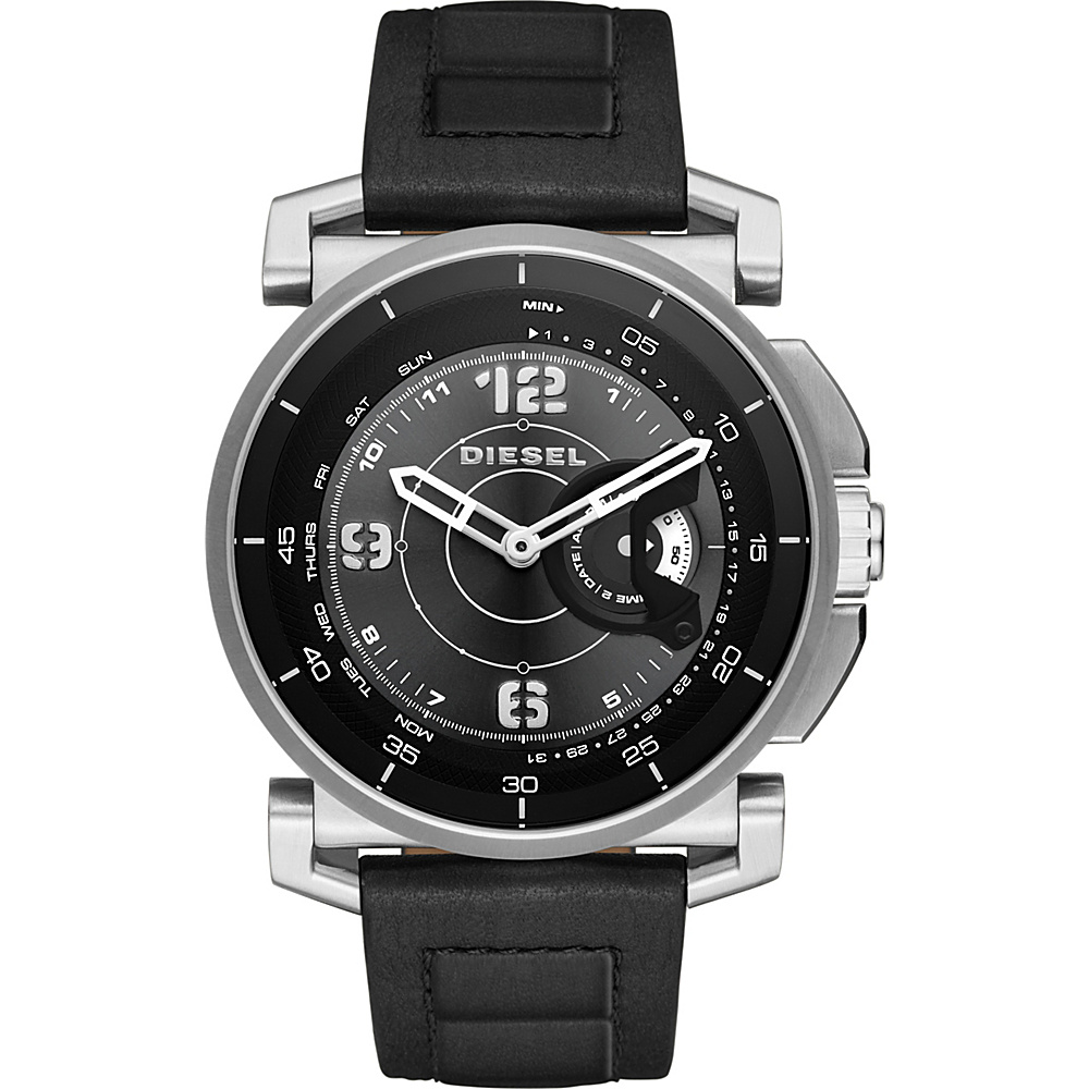 Diesel Watches On Time Hybrid Smartwatch Black Black Diesel Watches Wearable Technology