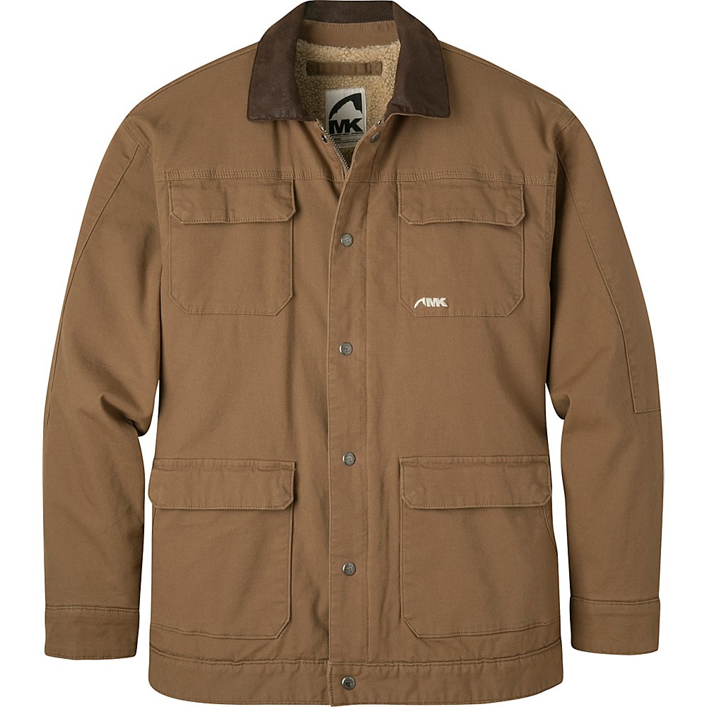 Mountain Khakis Ranch Shearling Jacket L - Tobacco - Mountain Khakis Mens Apparel - Apparel & Footwear, Men's Apparel
