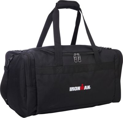 Travelway Group International Travelway Group International IRONMAN Duffel Black - Travelway Group International Gym Duffels