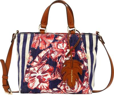 Tommy Bahama Handbags Coral Reef Convertible Crossbody Tropical Flowers - Tommy Bahama Handbags Fabric Handbags