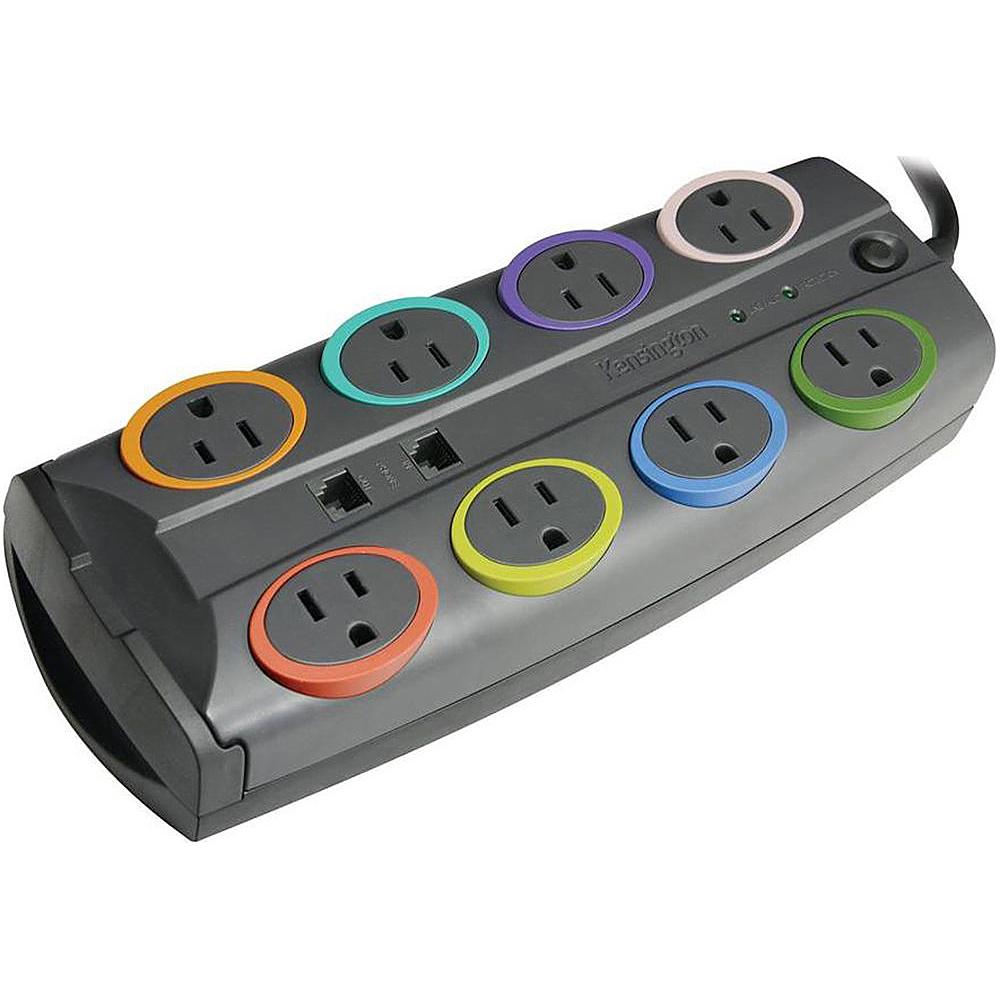 Kensington SmartSocketsPremium Adapter Black Kensington Electronic Accessories