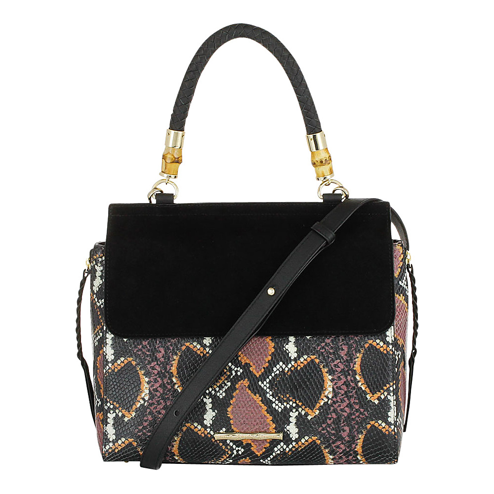 Elaine Turner Fiona Python Satchel Retro Python Elaine Turner Designer Handbags
