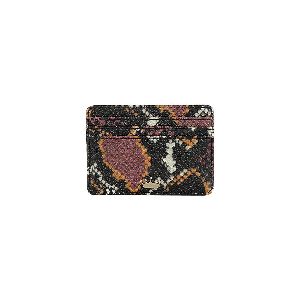 Elaine Turner Mini Wallet Retro Python Elaine Turner Women s Wallets