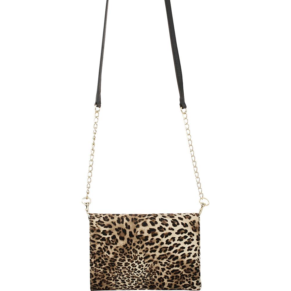 Elaine Turner Wallet Crossbody Cheetah Elaine Turner Women s Wallets