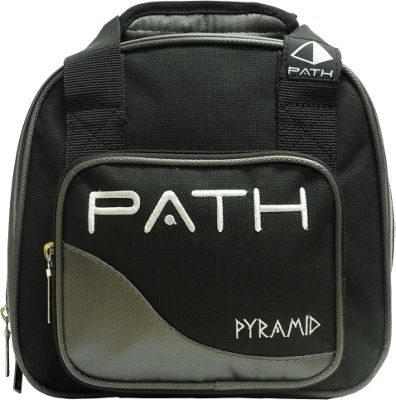 Pyramid Path Plus One Spare Ball Tote Bowling Bag Silver - Pyramid Bowling Bags