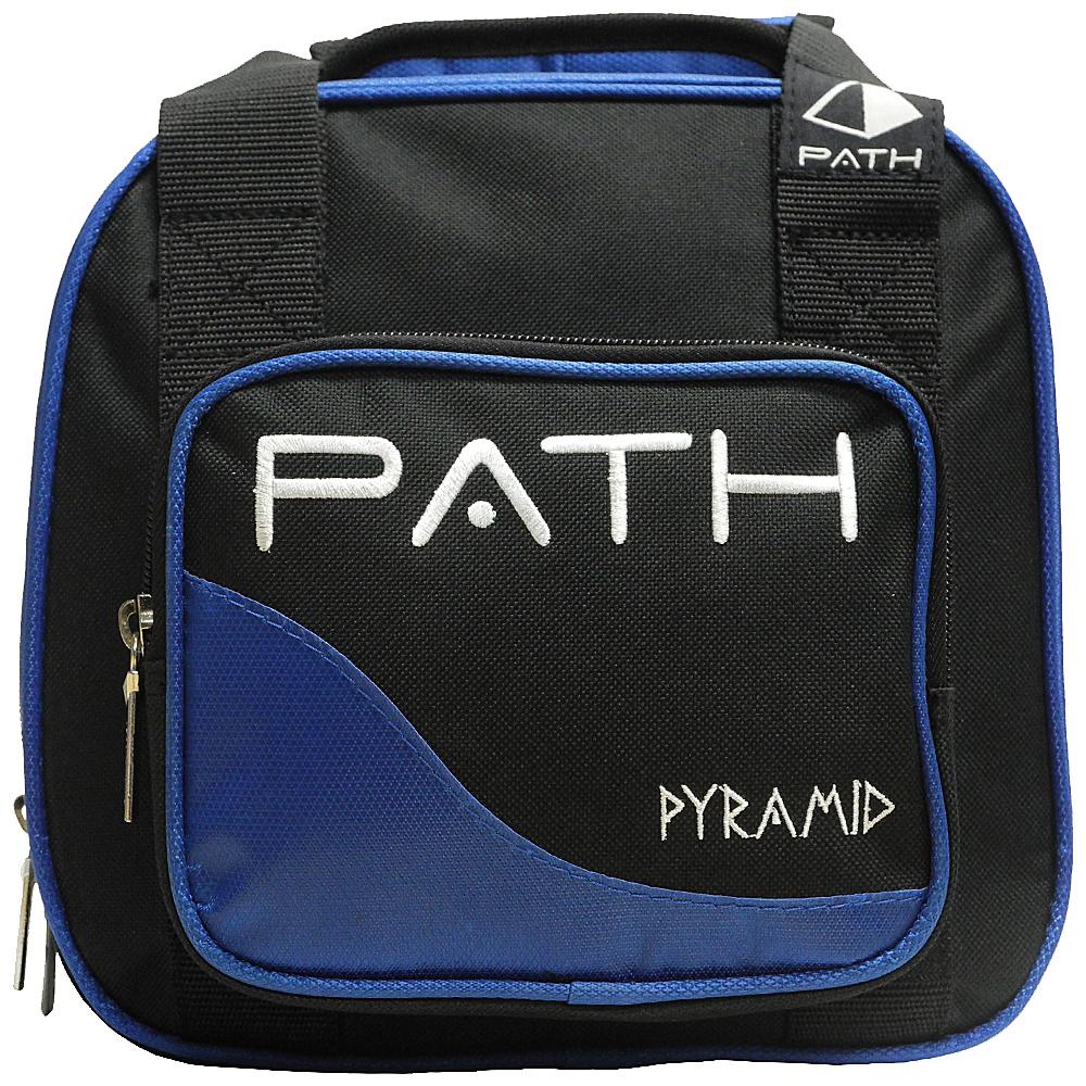 Pyramid Path Plus One Spare Ball Tote Bowling Bag Royal Blue Pyramid Bowling Bags
