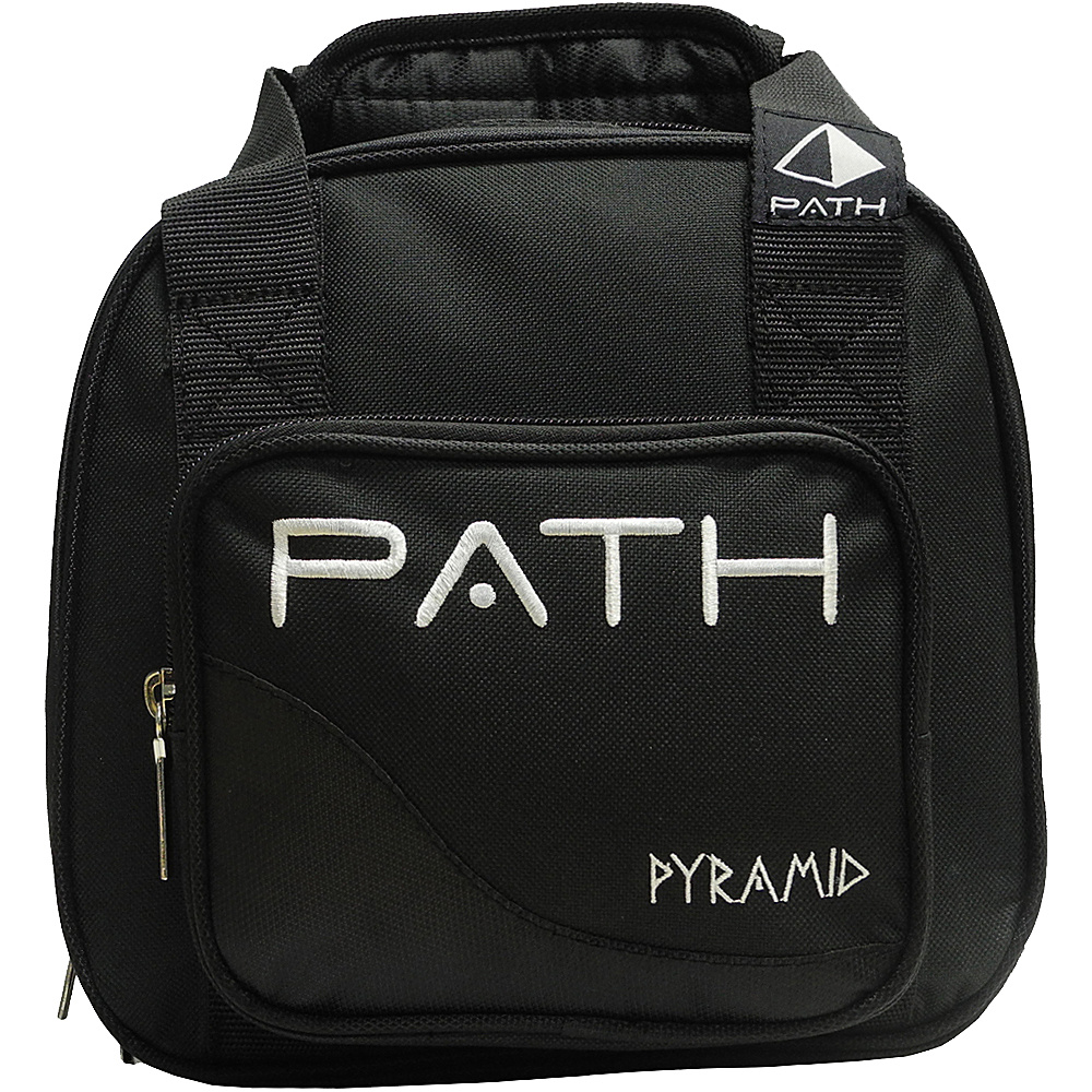 Pyramid Path Plus One Spare Ball Tote Bowling Bag Black Pyramid Bowling Bags