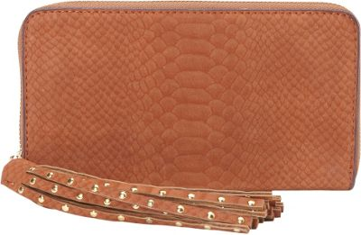 deux lux Juniper Zip Wallet Cognac - deux lux Women's Wallets