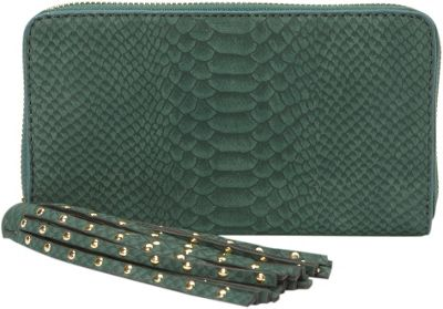 deux lux Juniper Zip Wallet Hunter - deux lux Women's Wallets
