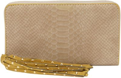 deux lux Juniper Zip Wallet Mink - deux lux Women's Wallets