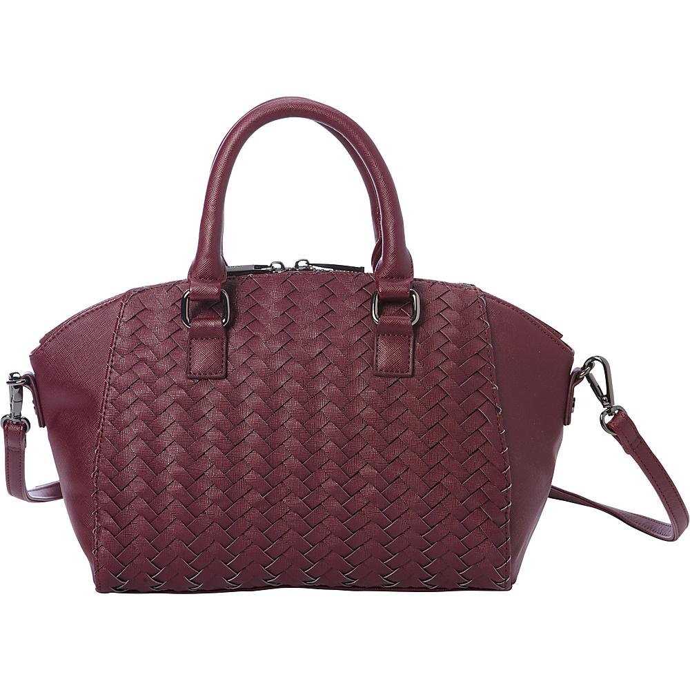 deux lux Mott Small Satchel Wine deux lux Manmade Handbags