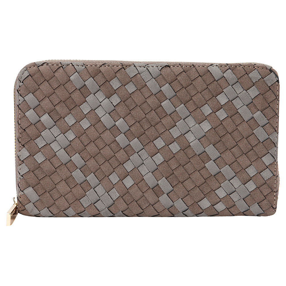 deux lux Delaney Passport Wallet Mocha deux lux Women s Wallets