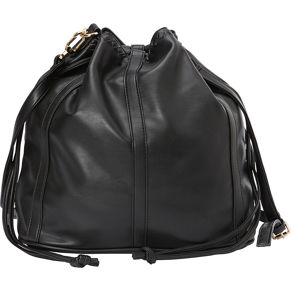 deux lux Ingrid Bucket Bag Black deux lux Manmade Handbags