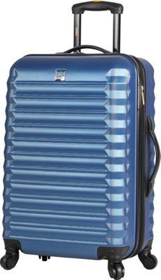 LUCAS Treadlite 20 inch Spinner Blue - LUCAS Softside Carry-On