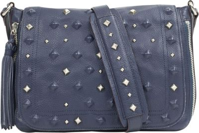 Sanctuary Handbags Rockstars Flap Crossbody Magnetic Blue - Sanctuary Handbags Designer Handbags