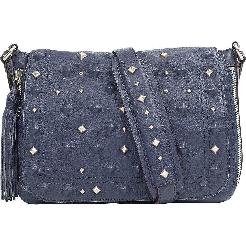 Sanctuary Handbags Rockstars Flap Crossbody Magnetic Blue Sanctuary Handbags Designer Handbags