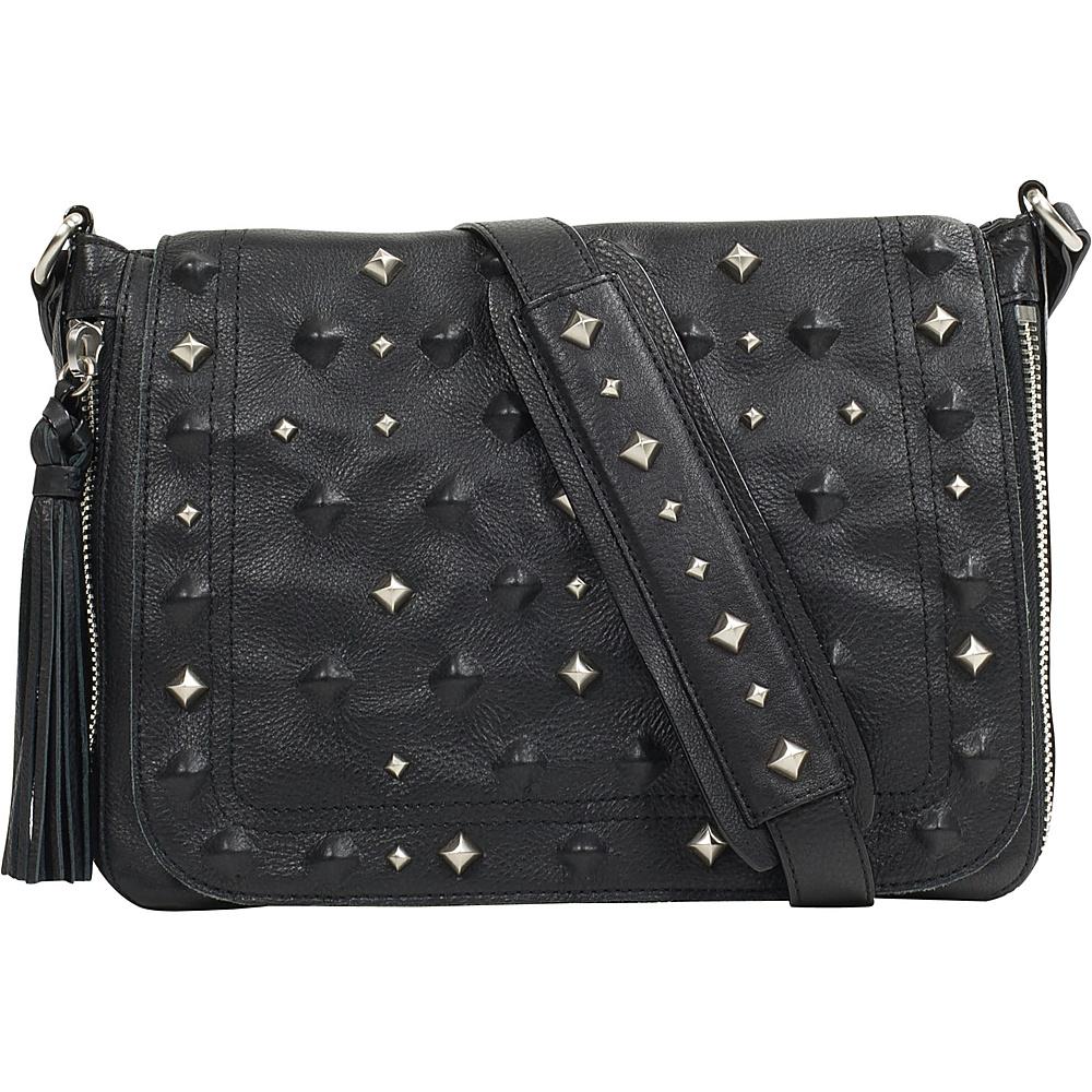 Sanctuary Handbags Rockstars Flap Crossbody Black Sanctuary Handbags Designer Handbags