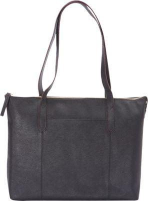 Bella Handbags Kate Tote Black - Bella Handbags Leather Handbags