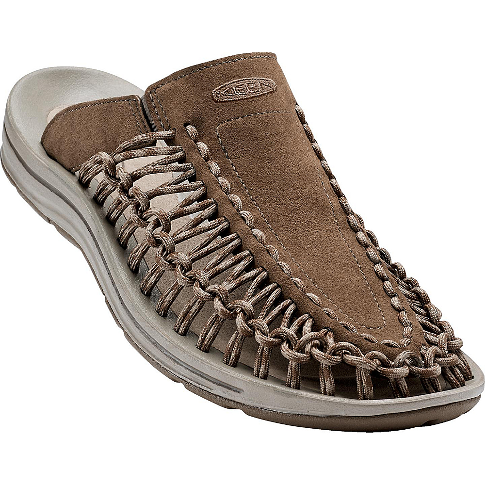 KEEN Mens UNEEK Slide 7 - Dark Earth / Brindle - KEEN Mens Footwear - Apparel & Footwear, Men's Footwear