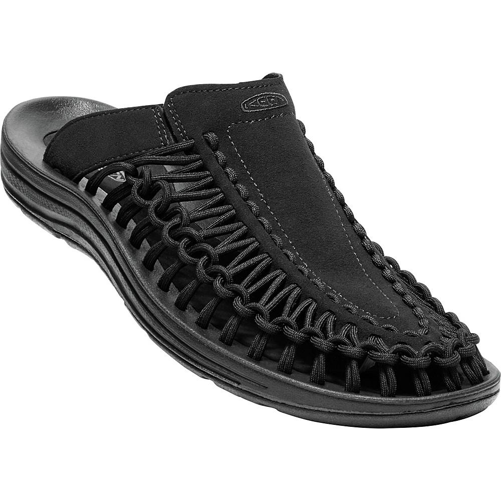 KEEN Mens UNEEK Slide 10 - Black/Black - KEEN Mens Footwear - Apparel & Footwear, Men's Footwear