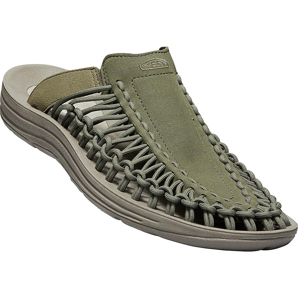 KEEN Mens UNEEK Slide 8.5 - Dusty Olive/Brindle - KEEN Mens Footwear - Apparel & Footwear, Men's Footwear