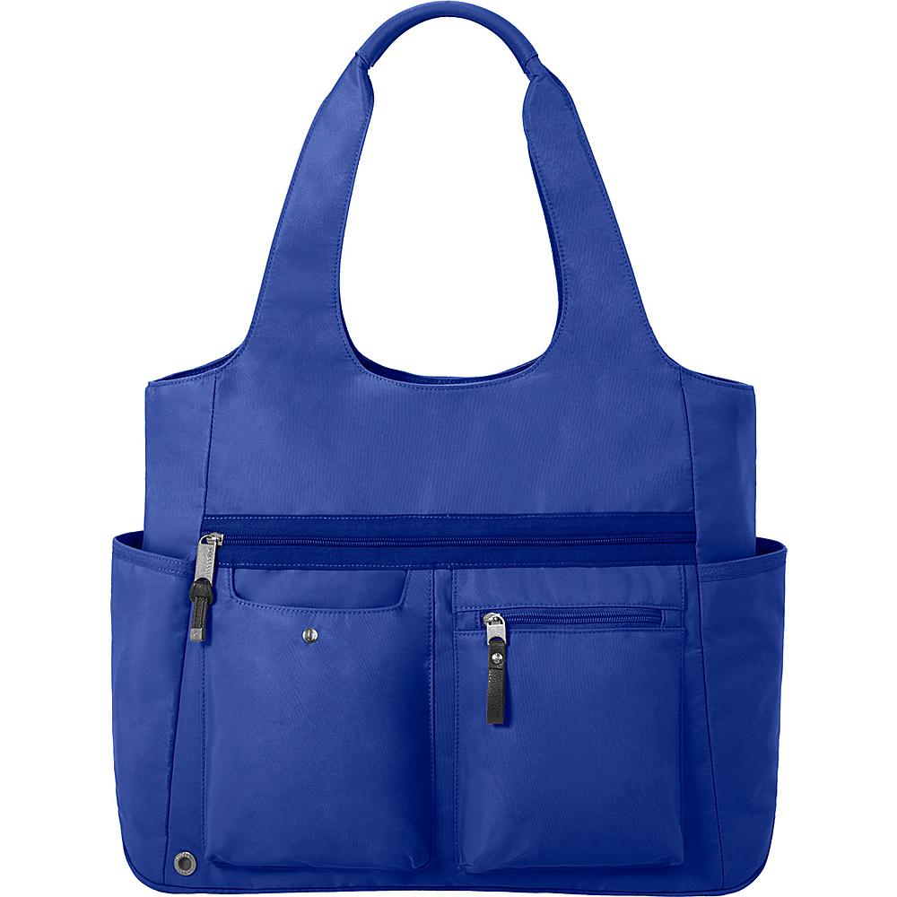 baggallini Get Along Large Tote COBALT - baggallini Fabric Handbags - Handbags, Fabric Handbags