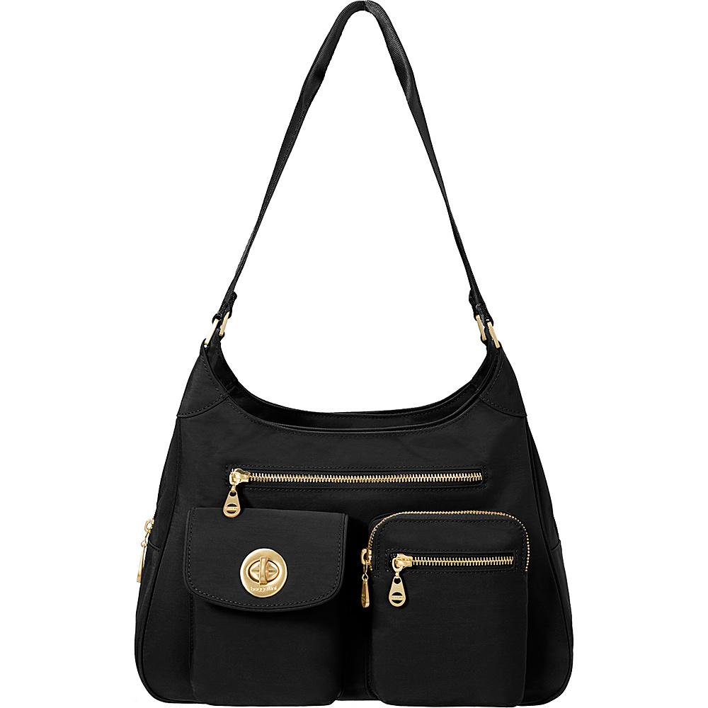 baggallini San Marino Satchel Black - baggallini Fabric Handbags - Handbags, Fabric Handbags