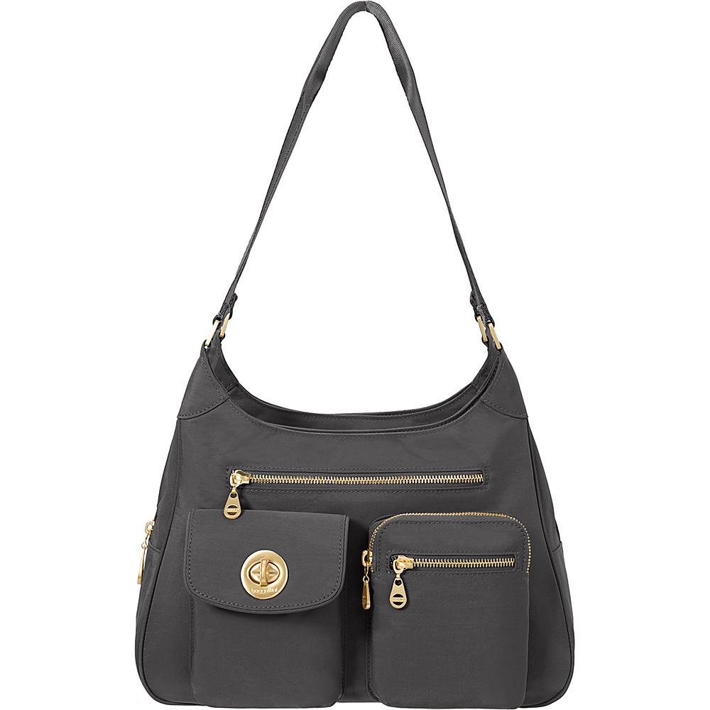 baggallini San Marino Satchel Charcoal - baggallini Fabric Handbags - Handbags, Fabric Handbags