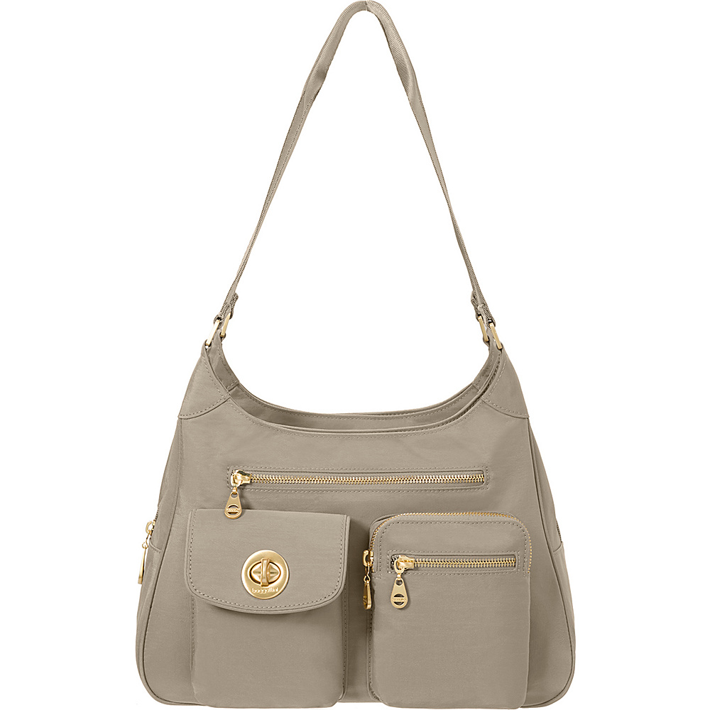 baggallini San Marino Satchel Beach - baggallini Fabric Handbags - Handbags, Fabric Handbags