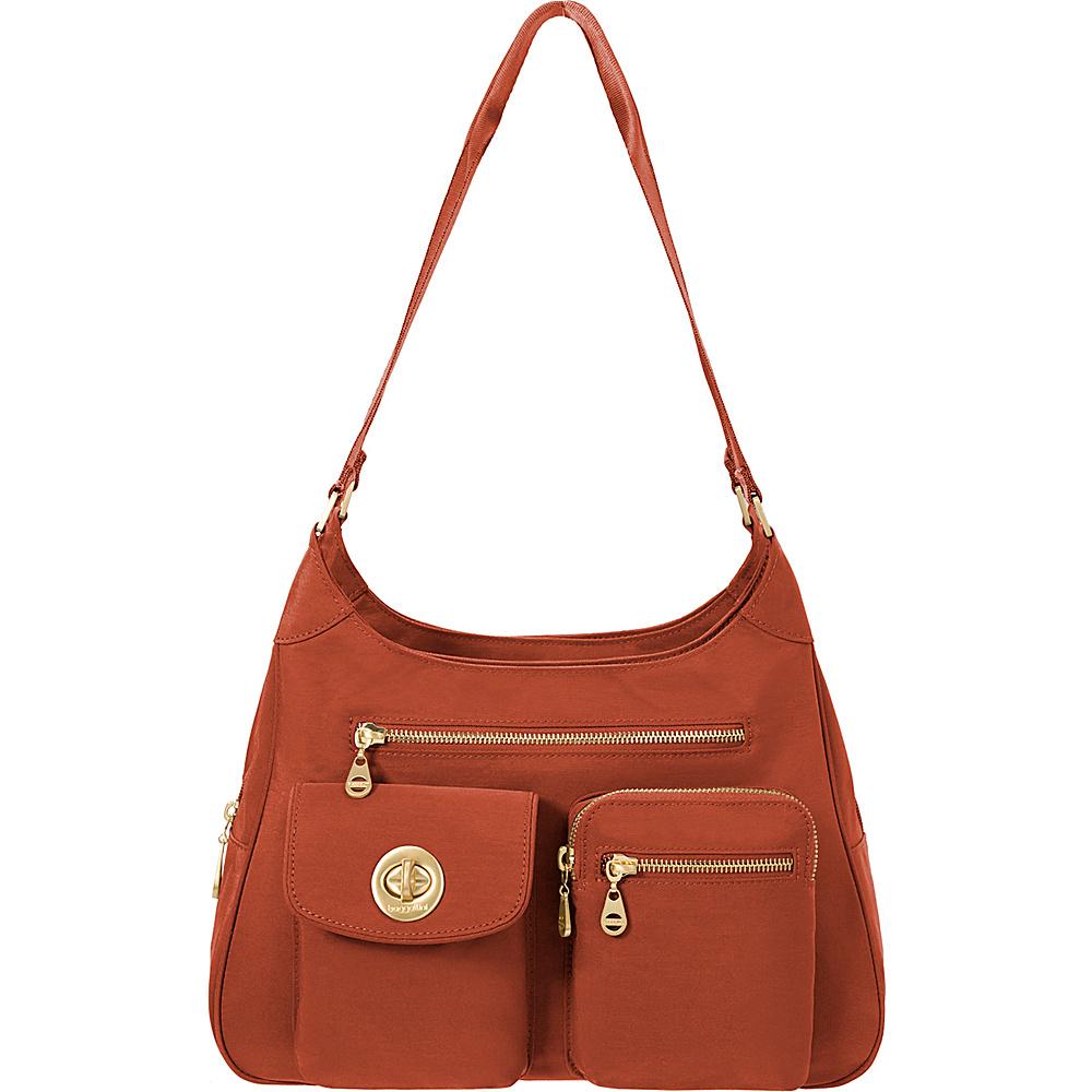 baggallini San Marino Satchel Adobe - baggallini Fabric Handbags - Handbags, Fabric Handbags