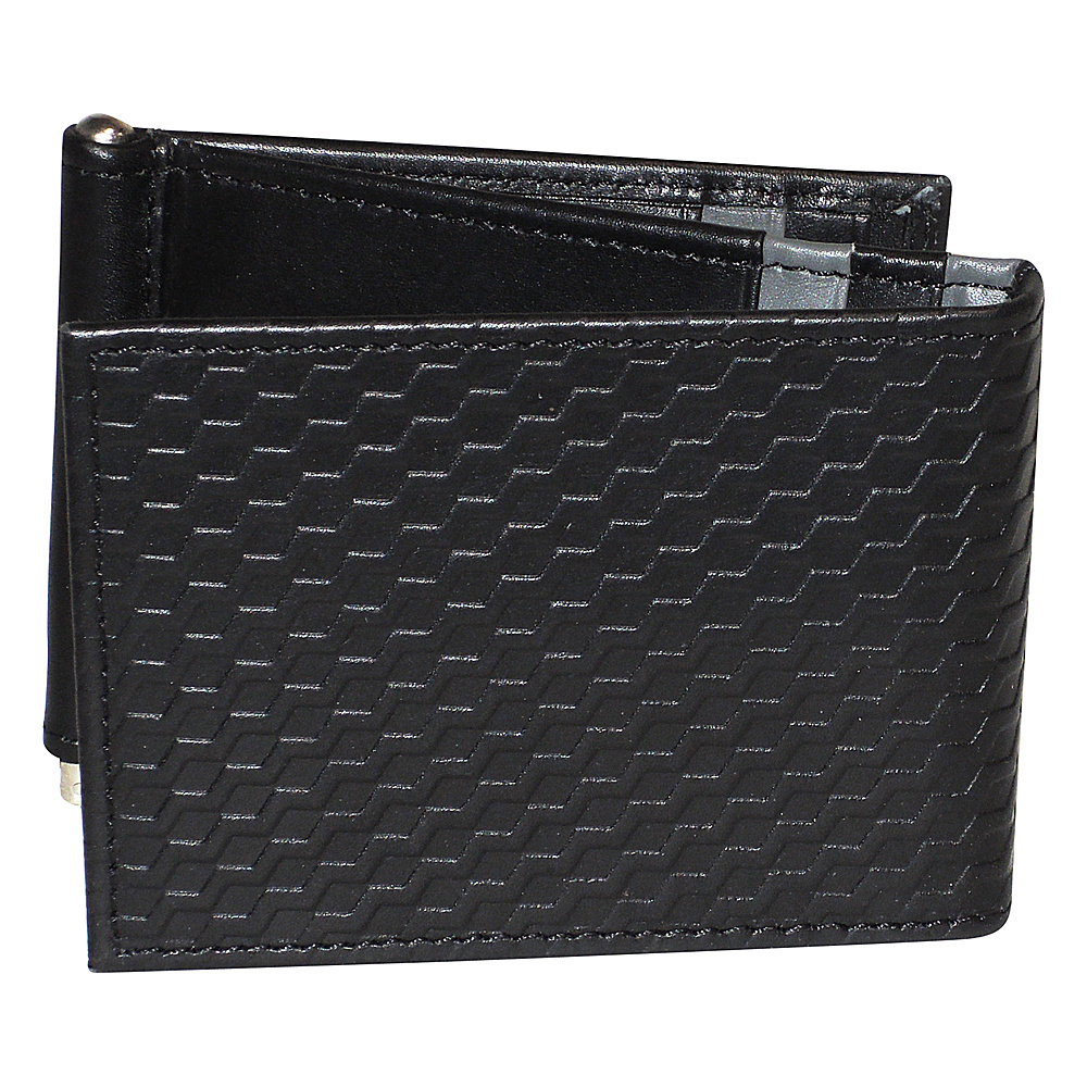 Buxton Bellamy RFID Z-Fold Wallet with Money Clip Black - Buxton Mens Wallets - Work Bags & Briefcases, Men's Wallets
