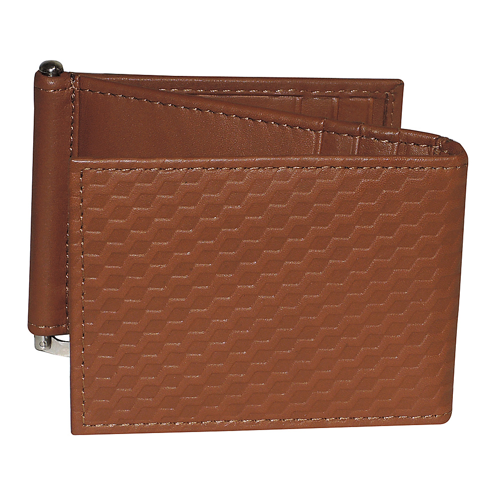 Buxton Bellamy RFID Z-Fold Wallet with Money Clip Tan - Buxton Mens Wallets - Work Bags & Briefcases, Men's Wallets