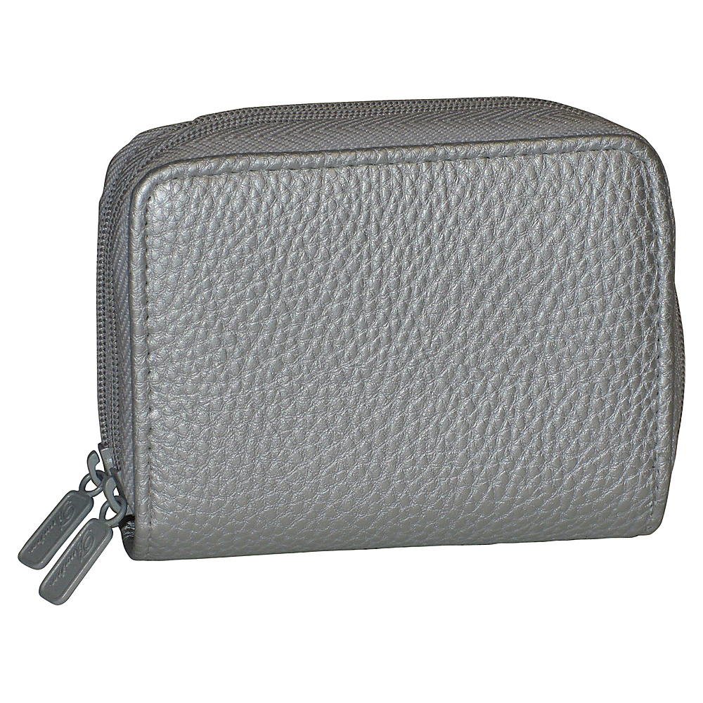 Buxton RFID Wizard Wallet - Exclusive Pewter - Buxton Womens Wallets - Women's SLG, Women's Wallets