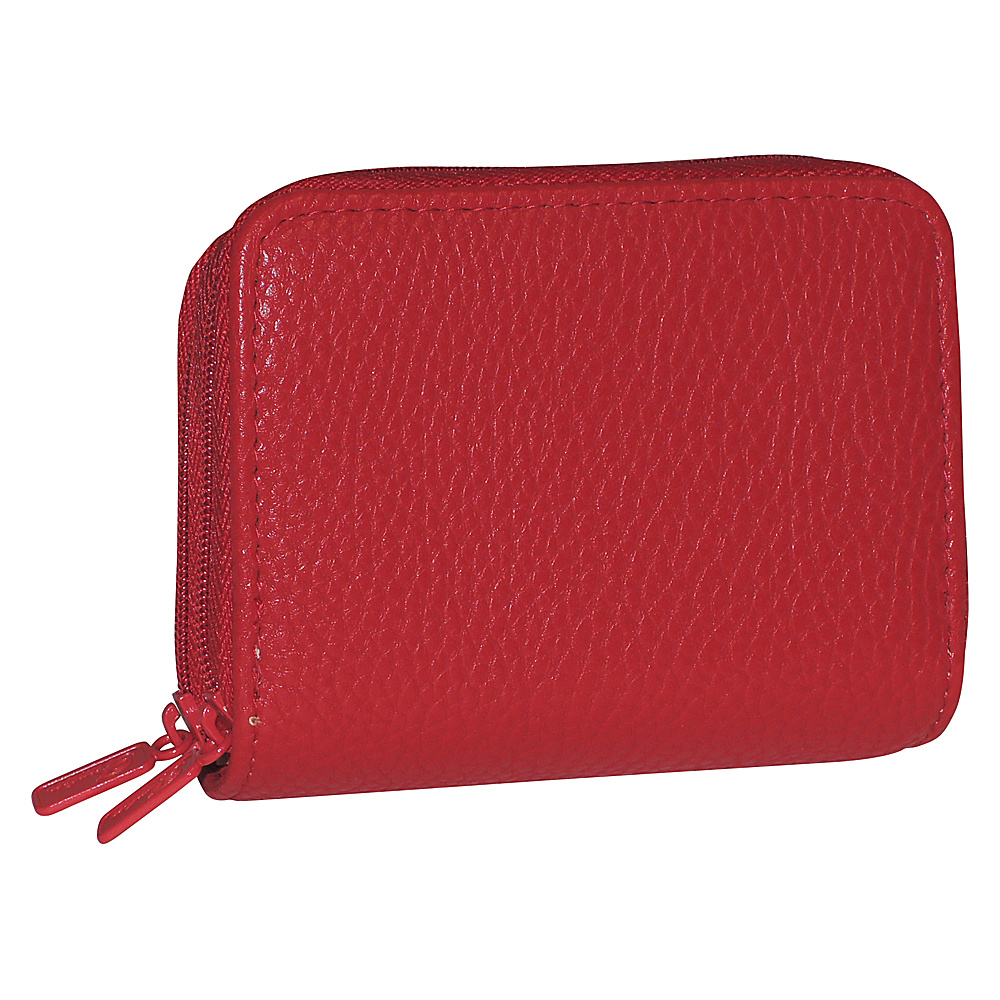 Buxton RFID Wizard Wallet - Exclusive Red - Buxton Womens Wallets - Women's SLG, Women's Wallets