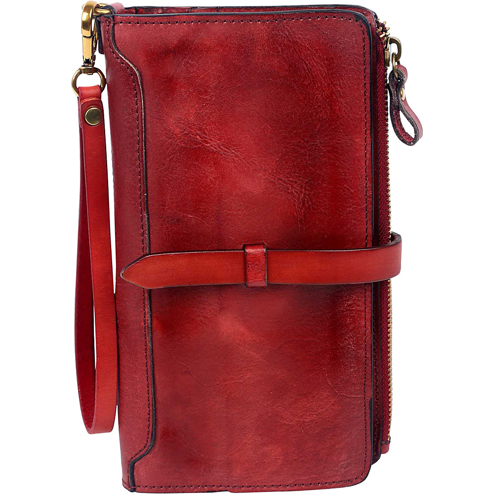 Old Trend Casey Clutch Red Old Trend Leather Handbags