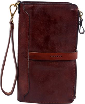 Old Trend Casey Clutch Brown - Old Trend Leather Handbags