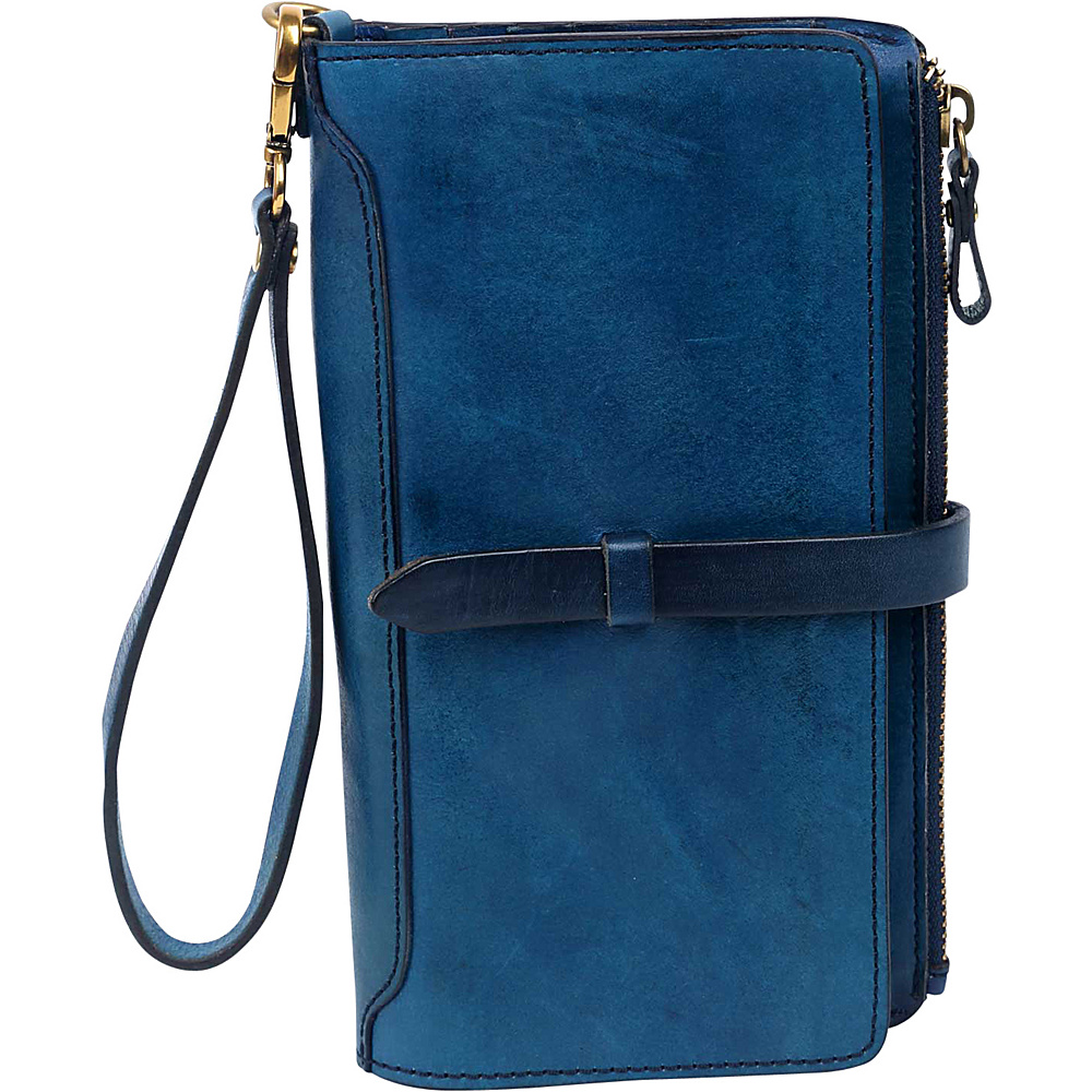 Old Trend Casey Clutch Navy Old Trend Leather Handbags