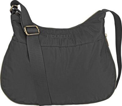 Suvelle RFID Expandable Travel Convertible Crossbody Bag Grey - Suvelle Fabric Handbags