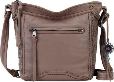 The Sak Tahoe N/S Crossbody Mocha Paisley - The Sak Leather Handbags