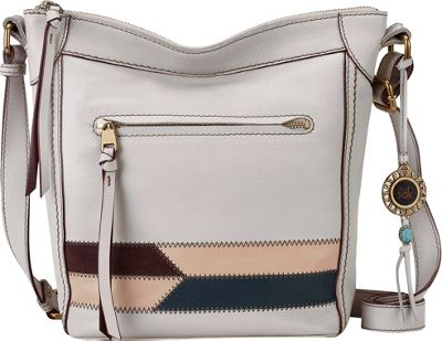 The Sak Tahoe N/S Crossbody Stone Racing Stripe - The Sak Leather Handbags