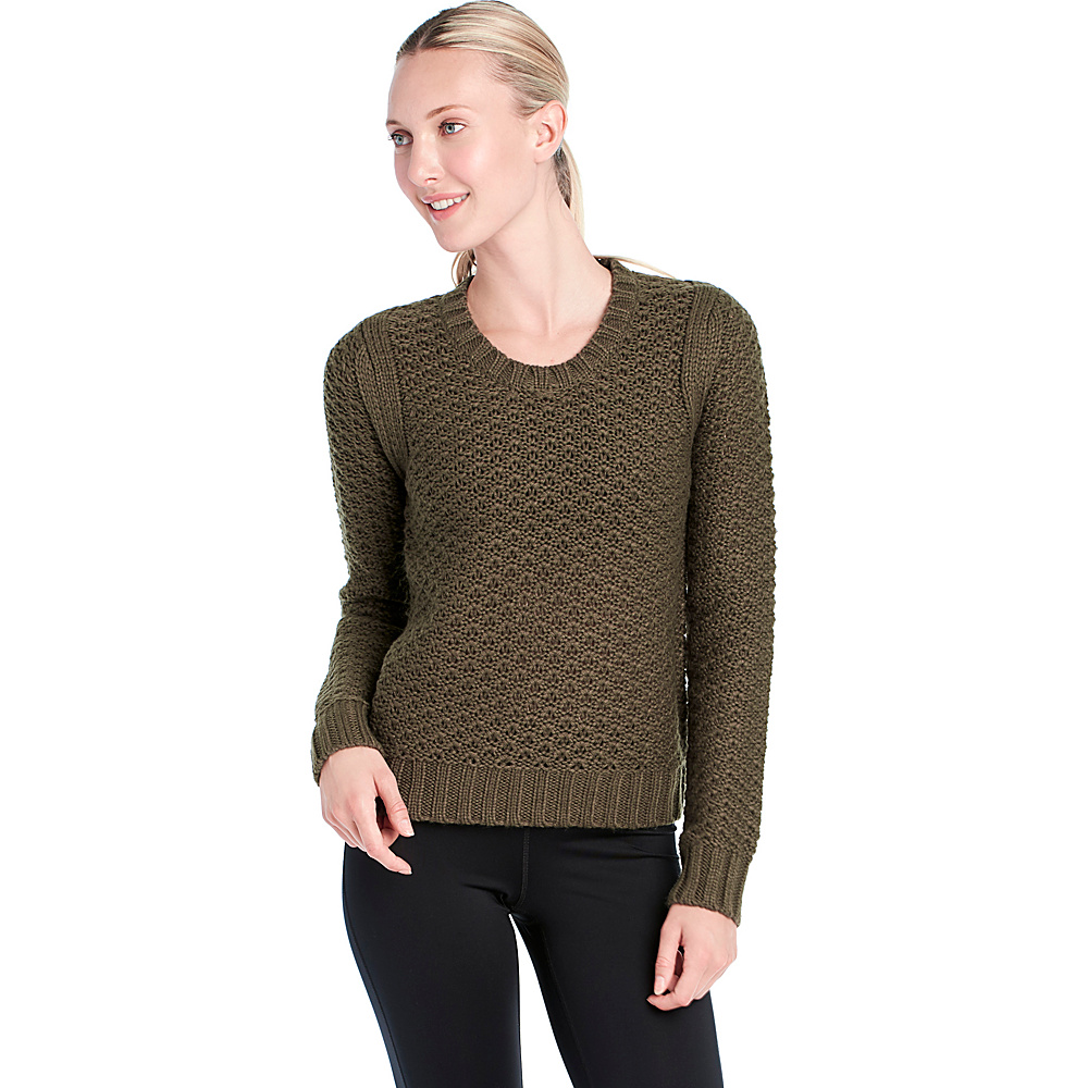 Lole January Sweater XS - Khaki - Lole Womens Apparel - Apparel & Footwear, Women's Apparel