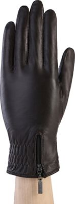 MoDa Ms. Tokyo Gathered Zip Winter Gloves XL - Black 2XL - MoDa Hats/Gloves/Scarves