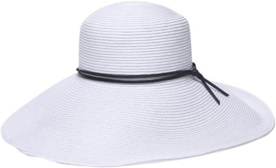 Gottex Stargazer Floppy Hat One Size - White/Black - Gottex Hats/Gloves/Scarves
